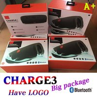 Wholesale have LOGO Charge3 Bluetooth speakers Cloth Grid High sound quality For JBL Charge3 With Big Package