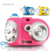Wholesale Toy Camera Cute Baby Educational Light Projection Pictures Camera Toy Christmas Birthday Gift Toy For Child Kid Baby Infant