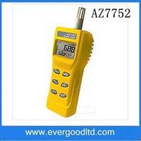 Vente en gros - AZ7752 Détecteur de dioxyde de carbone portatif Détecteur de gaz CO2 Moniteur de qualité de l'air avec mesure de la température