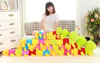 al por mayor almohada juguete de la oruga-30 cm. 60 cm, 120 cm. Lovely Inchworm Toy Soft Plush Caterpillars Sostener Pillow muñeca juguetes para los niños BabyKid juguetes de peluche