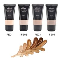 Wholesale New Cover BB Cream g Cosmetic Concealer Whitening Isolation Skin Care Natural Naked Makeup Concealer Soft Skin