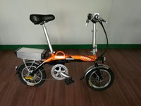 Wholesale Electric folding bikes and bicycle new urban style folding bikes convenient flexible and lightweight suitable to and from work the