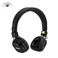Gros casque Prix-Marshall Major II 2.0 Casque sans fil Bluetooth DJ Stiudio Deep Bass Niose Isolating In Black Headset pour Iphone Samsung