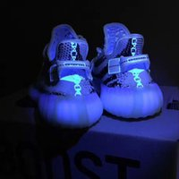 china shoes - Shop online v2 Cream Triple White Zebra Sply Boost from China Find Kanye West Shoes to past uv light test