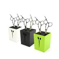 Wholesale 2017 New Hair Scissors Holder Fashion Salon Professional Scissor Set Storage Box High Quality colors
