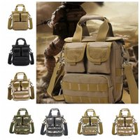 Wholesale Men Camouflage bags Crossbody Bag Camouflage Tactical Bag Outdoor Men Single Shoulder Bag Casual bags Military Shoulder Bags KKA984