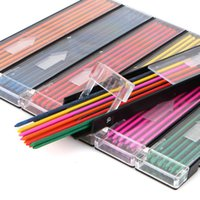 Wholesale box mm Mechanical Pencil color lead Refill mm red pink yellow bule orange green color Drawing Colored
