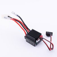 Wholesale High Quality V Brushed Motor Speed Controller ESC A for RC Ship and Boat R C Hobby