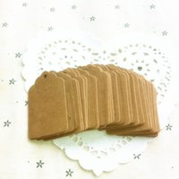 Wholesale Hot Vintage Kraft Paper Gift Cards Tags Label with Swirl Edges for Wedding Decoration DIY Card Making Scrapbooking Paper Crafts