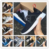 adult basketball camps - With Box Hot New High Quality Adult NMD XR1 Fall Olive green Sneakers Women Men Youth Glitch Black White Blue Camo Running Shoes