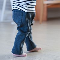 Wholesale Children S Trousers New Winter Wear Outside Haroun Pants Casual Pants Baby Double Heat Preservation Breathable Absorbent Leggings