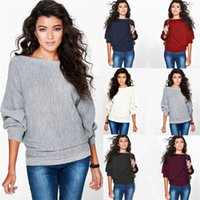 batwing sweatshirt - JSEO Women Pullover Fleece Sweatshirt Batwing Sleeve Loose Sweater Pullover Casual Crew Neck Top Blouse T Shirt
