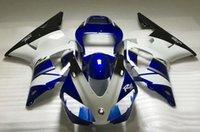 Precio de Venta caliente de la motocicleta-Nuevos kits de calidad superior del carenado del ABS de la motocicleta el 100% cabido para YAMAHA 1998 1999 YZF-R1 98 99 YZFR1 98 99 YZF R1 YZF1000 venta caliente blanco negro azul