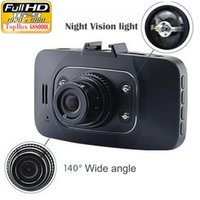 Dashcam Hd 1080P 2.7 pulgadas vehículo Dvr grabadora de cámara Cámara Dash Cámaras Crash G-sensor de visión nocturna Caja Negro Video de buena calidad