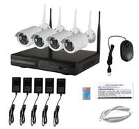 Bon prix cctv video hdd enregistrement hd extérieur système de caméra de sécurité sans fil avec répéteur wifi