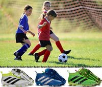 Wholesale Adidas Ace Purecontrol Kids Soccer Shoes Pure Control Football Shoes Kid Soccer Cleats Boots Cheap Original Boy Girl Football Shoes
