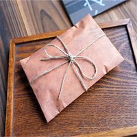 Wholesale Vintage Envelope x11cm Brown Craft Envelopes For Invitations Postcard x inch Small Paper Envelope