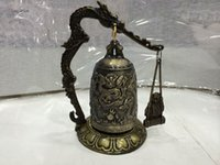 antique chinese bell - collectable Chinese Dragon Bell statue