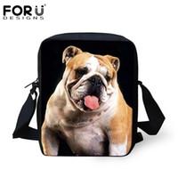 Wholesale French Bulldog Printing Famous Brand Messenger Bags for Women Crossbody Bags Spain Designer Handbag Child Cross Body Sling Bags