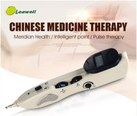 Wholesale Pain Relief Handy Rehabilitation Electric Acupoint Therapy Meridian Detect Muscle Stimulate Body Massage Acupuncture point pen