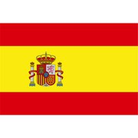 Wholesale 2017 New x5 Feet Large Spanish Flag Polyester the Spain National Banners Home