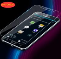 achat en gros de antireflets de galaxie-Protecteur d'écran Film de verre trempé pour Samsung Galaxy A3 A5 A7 2016 A310F A510F A710F S3 S4 S5 S6 S7 A8 verre trempé