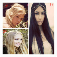 Wholesale Hot New Selling Hair Accessories Designs American Style Shiny Waves Chain Hair Accessory Good Quality