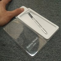 Nuevas plumas capacitivas de la pantalla táctil de la pluma de la aguja de la alta calidad S para la galaxia de Samsung NOTA 5 ATT Verizon, Sprint, T-Mobile