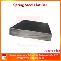Wholesale Leaf Spring Mild Steel Flat Bar with Square Edge