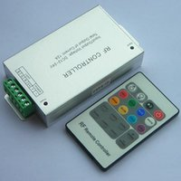 Wholesale LED RF Remote Controller for RGB LED Strip Lights RF Dimmer for V V DC LED Light Strips A Wireless Remote Control