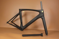 Wholesale Coolest full black or customized logo carbone route bike road carbon bicycle frame UD Coat full carbon T800 bike frame