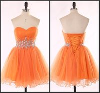 apple stocks price - Short Mini Tulle Gown Sweetheart Neck Lace Up Back Cheap Crystal Sparked Sequin Bling Prom Dress Short Cheap Price Amazing Stock Party