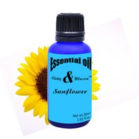 aromatherapy soaps - Vicky winson Sunflower aromatherapy essential oils based ML promote human cell growth and then massage oil soap VWXX18