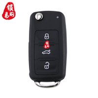 Wholesale New Model A Restructuring Folding Remote Controler for VW Car Key for VW AD