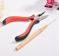 Micro perles outil d'extension des cheveux / micro kits d'outils anneau / extension de cheveux outils de pince pour les liens micro Livraison gratuite ZA2013