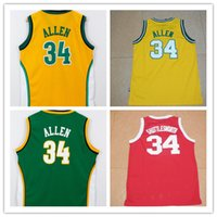 allen sports - Ray Allen Mens Jerseys Top quality Size S XXL Men Sport Jersey