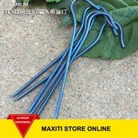 Wholesale MaxiTi High Strength Grade5 Titanium Vertical Tent Peg Nail Stakes X165mm