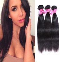 Wholesale high quality Brazil human hair Brazilian straight wigs Super Natural Glamorous Women Long weft g per bulk