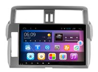big car system - 10 quot Android system big screen Quad core Car DVD player GPS radio for Toyota Prado year