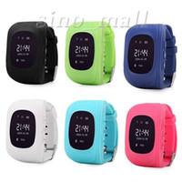 Q50 Niños Niños Smart Watch GPS Tracker SOS Emergencia Anti Perdida Ubicación Dispositivo PK U8 GT08 DZ09 Smartwatch