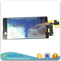 bar tv stand - lcd tv stand cabinet For Sony Xperia M5 LCD Display With Touch Screen Digitizer Assembly E5603 E5606 E5653 Original Replacement Parts