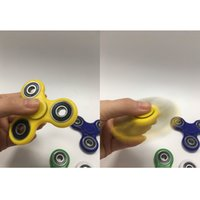 Wholesale Fidget Hand Spinner Fingertips Spiral Fingers Fidget Spinner EDC Hand Spinner Acrylic Plastic Fidgets Toys Gyro Toys With Retail Box DHL