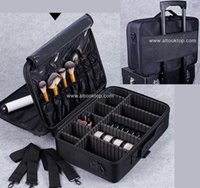 Wholesale Professional makeup artist bag waterproof cosmetic storage beauty vanity case make up travel bag for makeup brushes hair curler