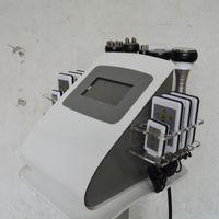 CE   High Quality 40k Ultrasonic liposuction Cavitation 8 Pads LLLT lipo Laser Slimming Machine Vacuum RF Skin Care Salon Spa Use Equipment