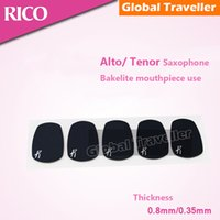 baritone tenor - USA RICO Alto Saxophone mouthpiece Cushion Tenor Baritone mouthpiece dental pad bakelite mouthpiece Cushio pad