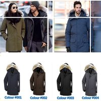 active outdoor clothing - 2017 Outdoor Canada down jacket Men s thick Canada down jacket Cold and warm Winter hooded coats Men from outdoor clothing brand Plus size