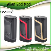 best control box - Authentic SMOK Alien TC Box MOD W VW Temperature Control Mod Fit Original TFV8 Baby Best Tank genuine SmokTech DHL Free