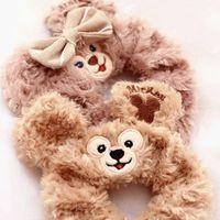 band video games - Cute Hot Sale Duffy Bear Shelliemay plush Toy Bear Series Peripheral Circle Velvet Hair Band Wrist Strap For Girls Birthday Gift