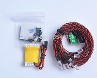 airplane fuselage - 1pc R C LED Lighting System Fuselage Lighting System For RC Helicopter or RC Airplane