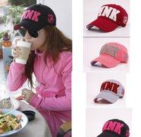Wholesale PINK hat adult and big kids Baseball cap summer Sun hat snapback hats sports hip hop flat sun hat color KKA1472